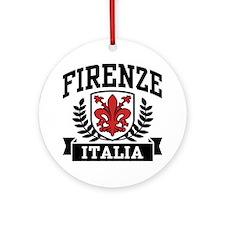 Firenze Italia Ornament (Round)