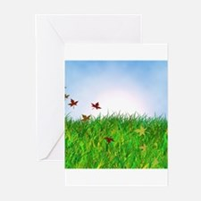 Unique Reusable grocery Greeting Cards (Pk of 20)