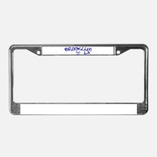 Unique Brooklyn License Plate Frame
