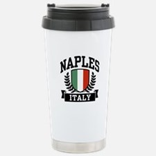 Naples Italy Stainless Steel Travel Mug