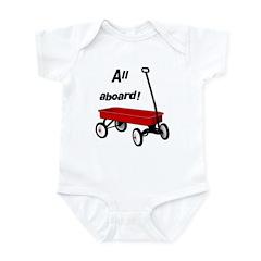 All aboard! Infant Bodysuit