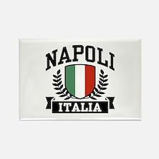 Napoli Italia Rectangle Magnet