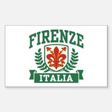 Firenze Italia Sticker (Rectangle)