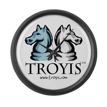 Troyis Large Wall Clock
