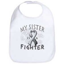 My Sister Is A Fighter Bib