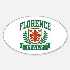 Florence Italy Sticker (Oval)