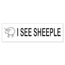 I See Sheeple Bumper Bumper Sticker