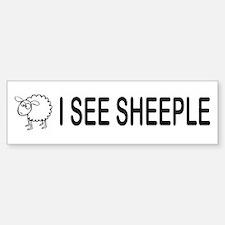 I See Sheeple Car Car Sticker