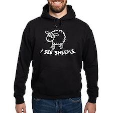 I See Sheeple Hoodie