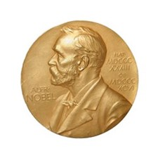 """Nobel Peace Prize 3.5"""" Button (100 pack)"""