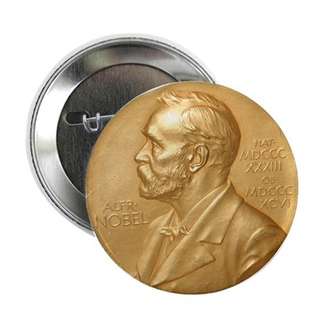 "Nobel Peace Prize 2.25"" Button"