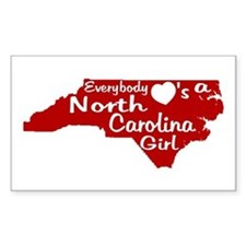 Everybody Loves a NC Girl (Re Decal