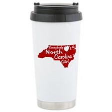 Everybody Loves a NC Girl (Re Travel Mug