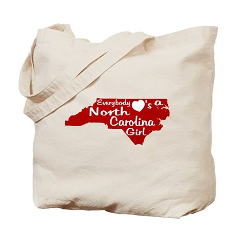 Everybody Loves a NC Girl (Re Tote Bag