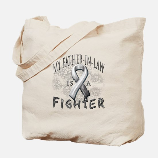My Father-In-Law Is A Fighter Tote Bag