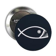 "Evolution Fish 2.25"" Button"