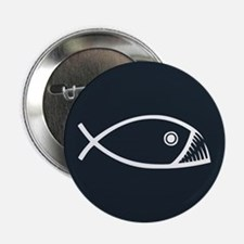 "Evolution Fish 2.25"" Button"