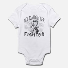 My Daughter Is A Fighter Infant Bodysuit