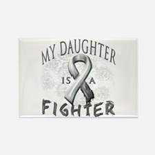 My Daughter Is A Fighter Rectangle Magnet
