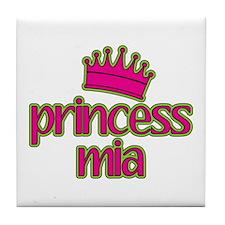 Princess Mia Tile Coaster