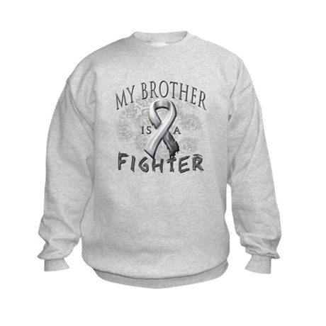 My Brother Is A Fighter Kids Sweatshirt