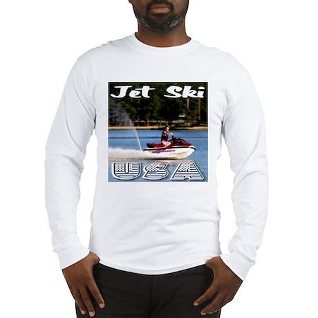 Jet Ski USA Long Sleeve T-Shirt