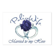 PoliceWife: Married My Hero Postcards (Package of