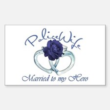 PoliceWife: Married My Hero Decal