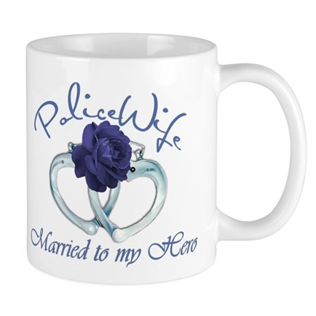 PoliceWife: Married My Hero Mug