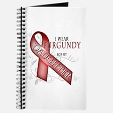 I Wear Burgundy for my Daughter Journal
