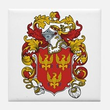 Lindsey Coat of Arms Tile Coaster