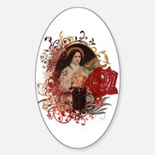 St. Therese Sticker (Oval)