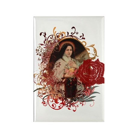 St. Therese Rectangle Magnet