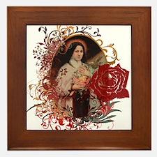 St. Therese Framed Tile
