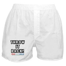 Throw It Back Boxer Shorts