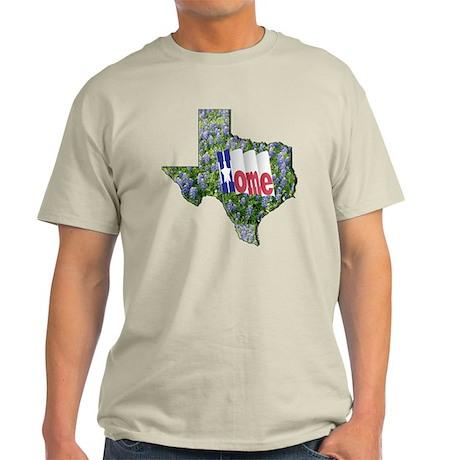 TX-Home-Bluebonnets Light T-Shirt