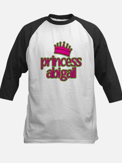 Princess Abigail Kids Baseball Jersey