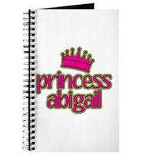 Princess Abigail Journal