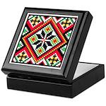 Folk Design 1 Keepsake Box