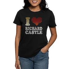 I heart Richard Castle Tee