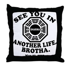 FINALE of LOST Commemorative Throw Pillow
