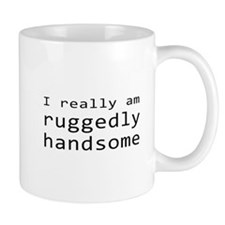 Rick Castle Ruggedly Handsome Mug