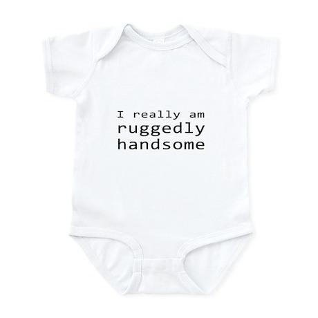 Rick Castle Ruggedly Handsome Infant Bodysuit