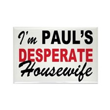 Paul's desperate Housewife Rectangle Magnet
