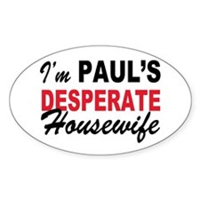 Paul's desperate Housewife Decal