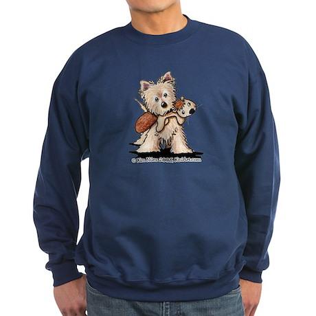 Cairn w/ Chipmunk Toy Sweatshirt (dark)
