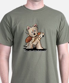Cairn w/ Chipmunk Toy T-Shirt