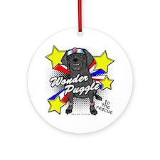Wonder Puggle Ornament (Round)