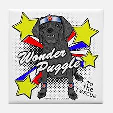Wonder Puggle Tile Coaster