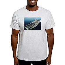 USS Essex LHD 2 Ash Grey T-Shirt